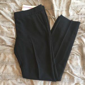 :loft: black zoe pants